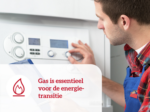 Gas is essentieel voor de energietransitie